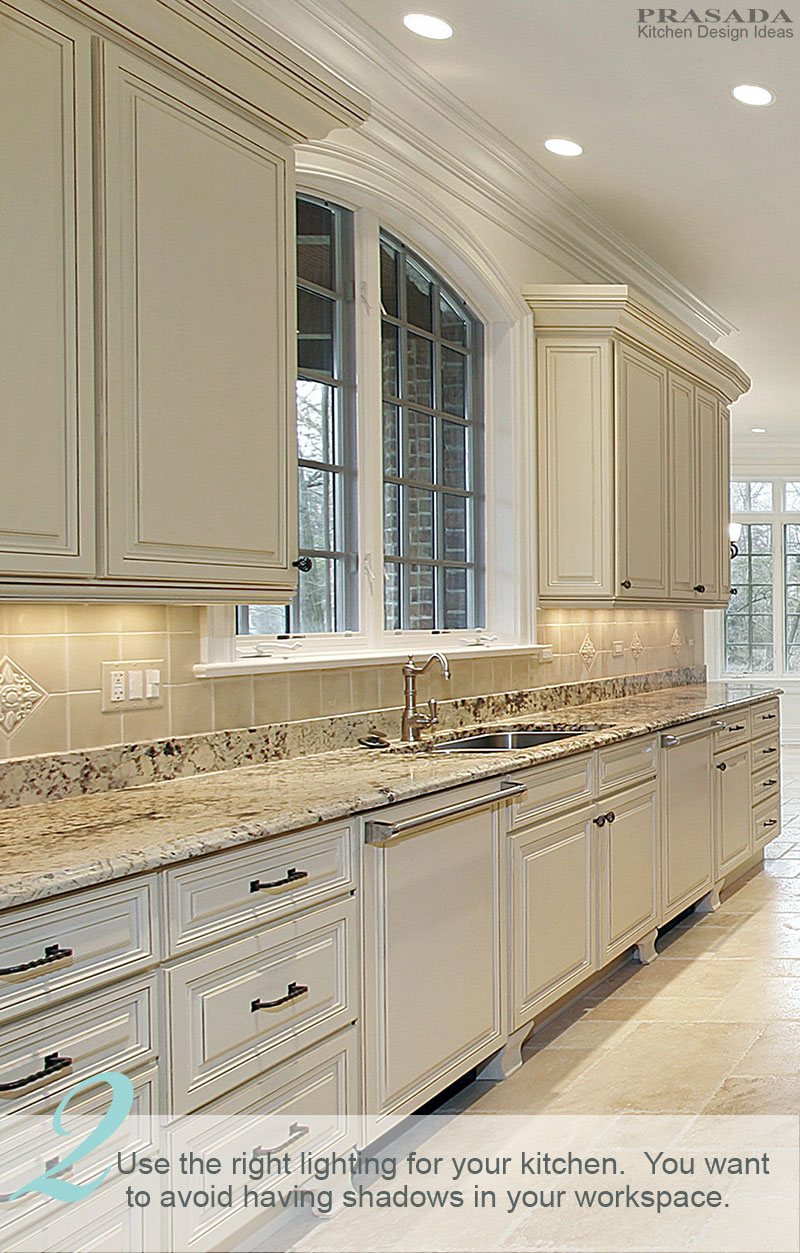 10 Kitchen Design Tips Prasada Kitchens And Fine Cabinetry