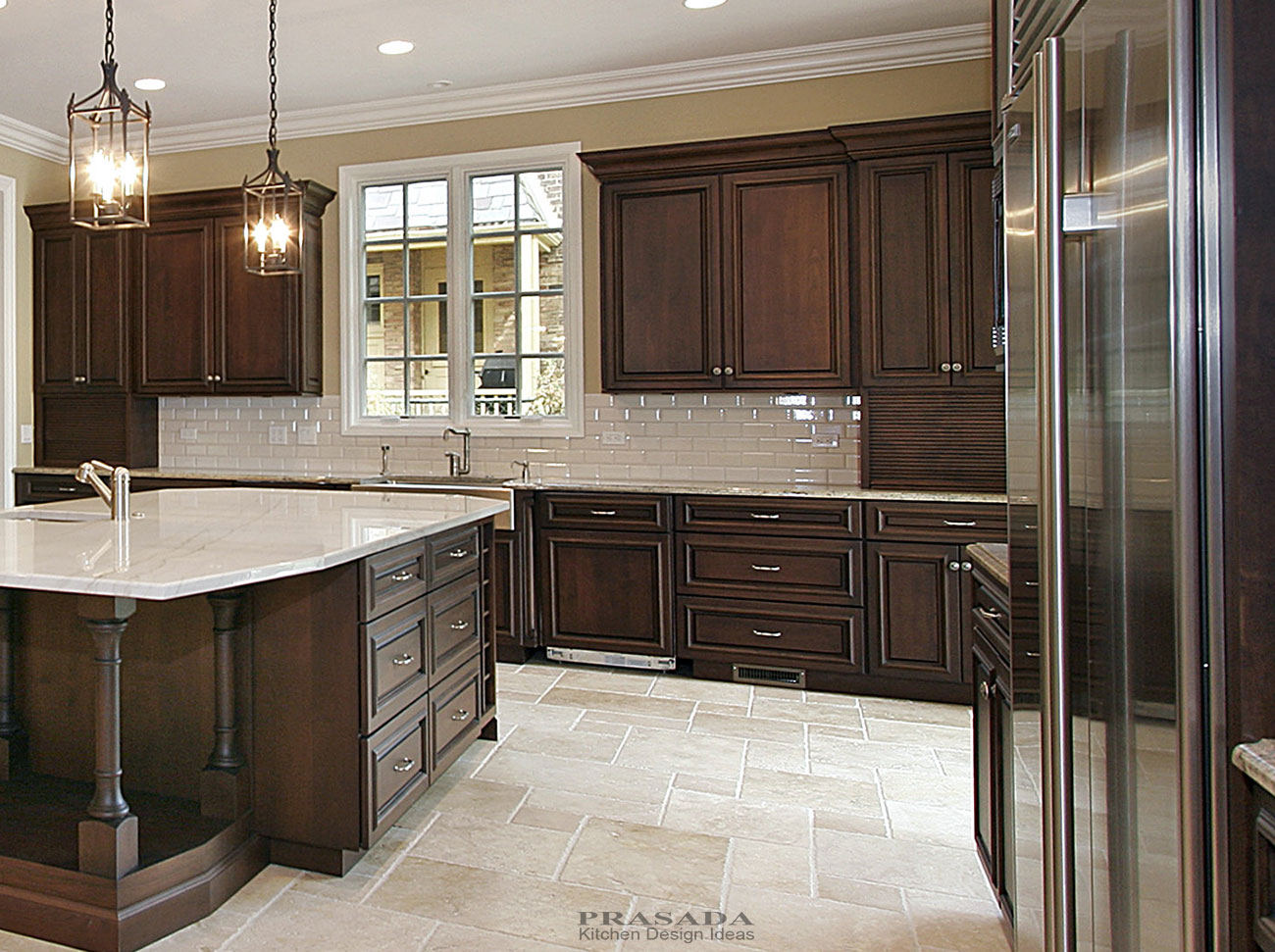 Used Furniture In Toronto Used Furniture In Mississauga  : Prasada Dark cherry cabinets design ideas from favefaves.com size 1300 x 971 jpeg 274kB