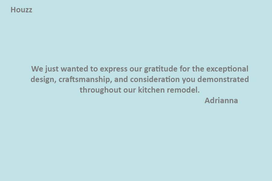 #1 kitchen company Oakville PRASADA Kitchens & Fine Cabinetry of Oakville-review-from-Adrianna-(Houzz)