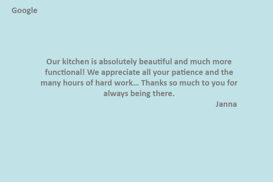 #1 kitchen company oakville PRASADA Kitchens & Fine Cabinetry of Oakville-review-from-Janna-(Google)
