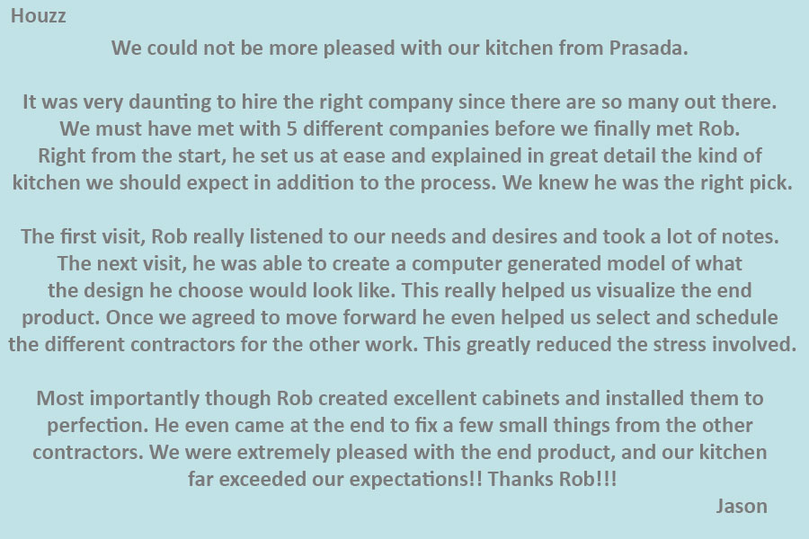 #1 kitchen company oakville PRASADA Kitchens & Fine Cabinetry of Oakville-review-from-Jason-(Houzz)